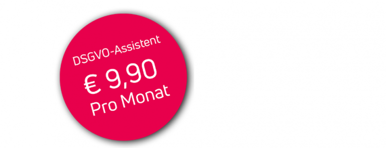DSGVO Assistent Button